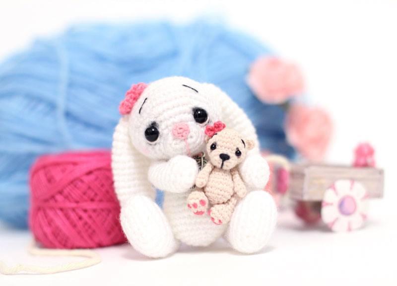 amigurumi mini coniglietto free pattern schemi gratis amigurumi amigurumi free dowload