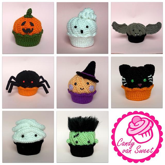 amigurumi cupcakes halloween free pattern schemi gratis amigurumi amigurumi free dowload