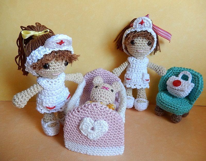 Amigurumi La piccola nursery