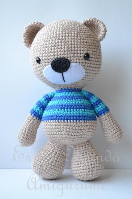 Orsetto Tiny Teddy amigurumi - schema free_traduzione in italiano ... | 640x427
