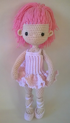 Ballerina doll amigurumi pattern | Crochet patterns amigurumi ... | 500x285
