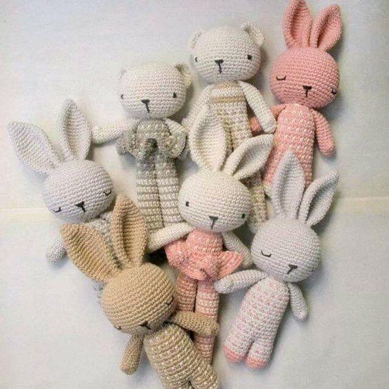 Amigurumi coniglietti nanna free pattern schemi gratis amigurumi amigurumi free dowload