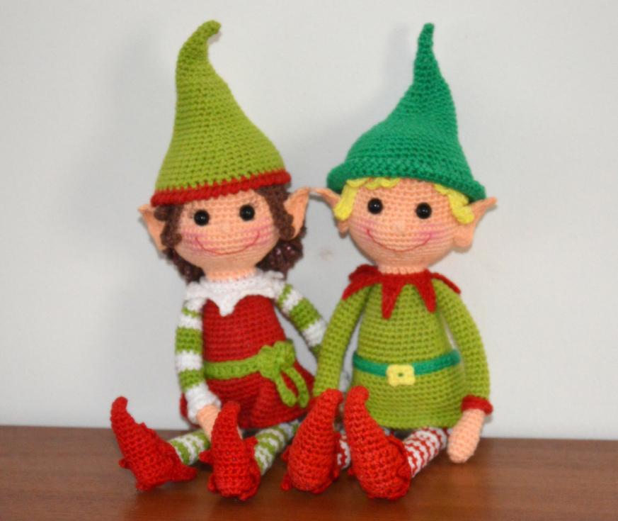 Amigurumi Per Natale : Amigurumi Elfi di Natale - Free Amigurumi