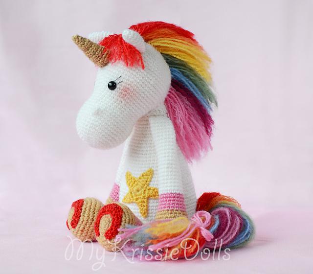 Amigurumi unicorno arcobaleno free pattern schemi gratis amigurumi amigurumi free dowload