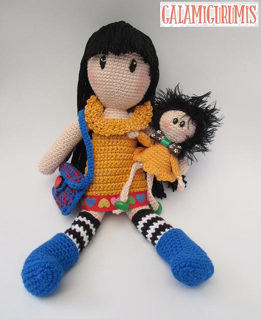 Amigurumi la bambola Molly - Amigurumi Gratis Free   640x523