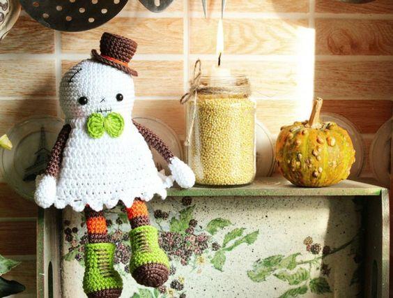 amigurumi fantasmino halloween free pattern schemi gratis amigurumi amigurumi free dowload