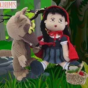 Amigurumi cappuccetto rosso e il lupo free pattern schemi gratis amigurumi amigurumi free dowload