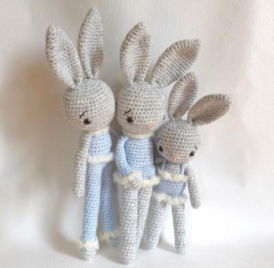 Amigurumi il coniglio venuto dal freddo free pattern schemi gratis amigurumi amigurumi free dowload