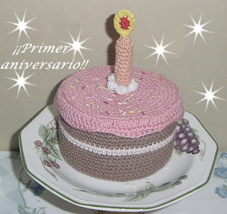 Amigurumi torta primo