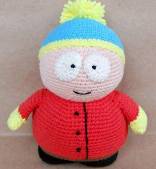 Amigurimi Eric Cartman free pattern schemi gratis amigurumi amigurumi free dowload
