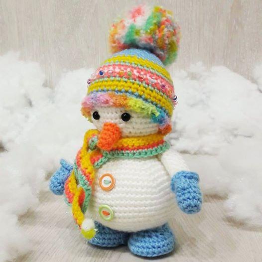 Amigurumi Pupazzo Di Neve Amigurumi Gratis Free