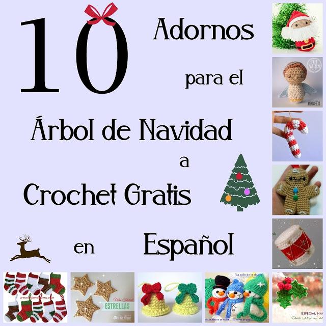 Amigurumi addobbi per l'albero di Natale free pattern schemi gratis amigurumi amigurumi free dowload