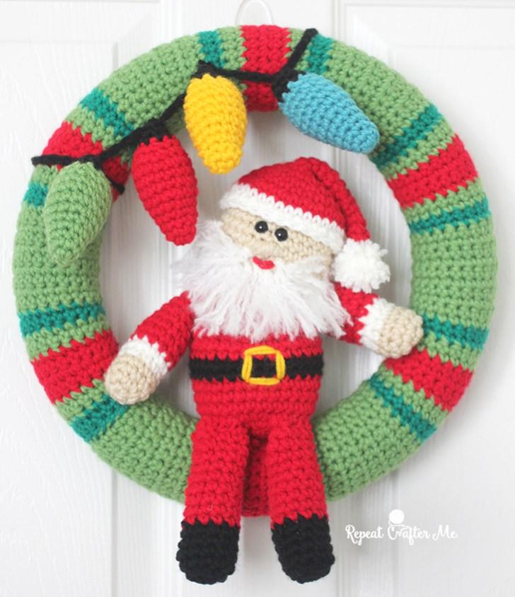 Amigurumi ghirlanda natalizia free pattern schemi gratis amigurumi amigurumi free dowload