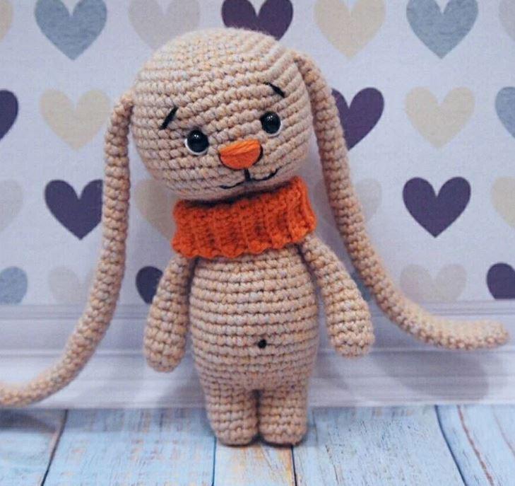 Amigurumi coniglio dalle lunghe orecchie free pattern schemi gratis amigurumi amigurumi free dowload