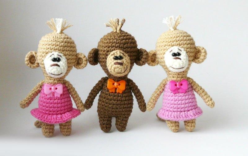 Amigurumi scimmiette free pattern schemi gratis amigurumi amigurumi free dowload