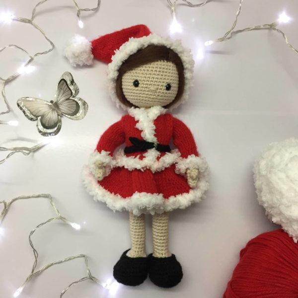 Amigurumi bambola Natale free pattern schemi gratis amigurumi amigurumi free dowload