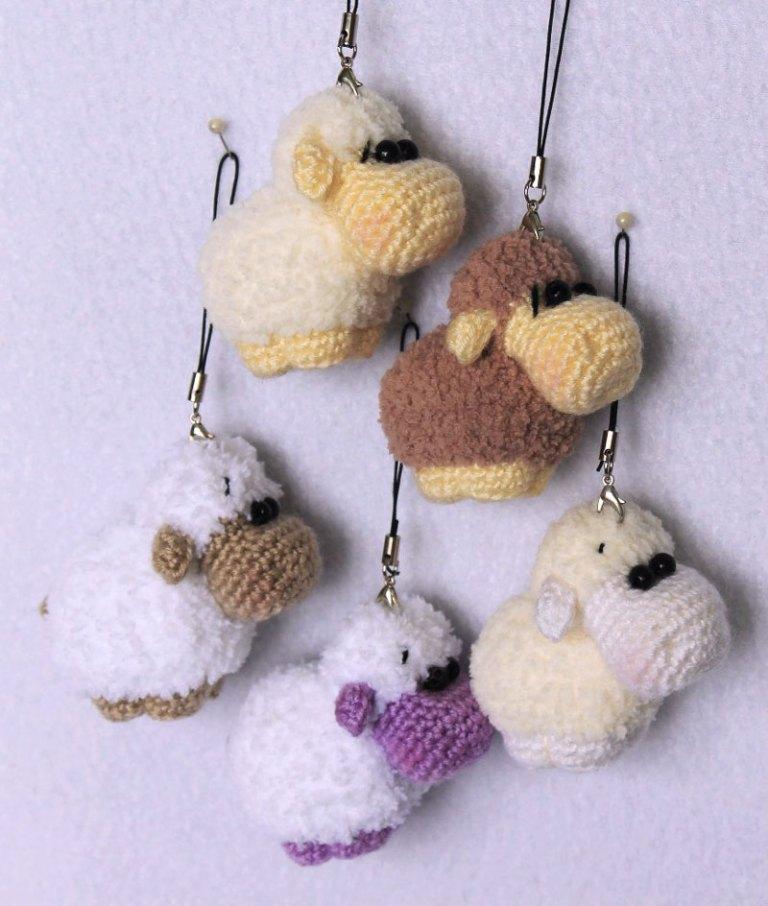 Amigurumi portachiavi pecorella free pattern schemi gratis amigurumi amigurumi free dowload