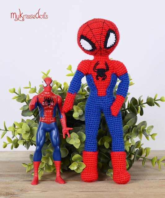 Amigurumi Spiderman free pattern schemi gratis amigurumi amigurumi free dowload