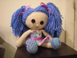 Amigurumi bambolina Belinda