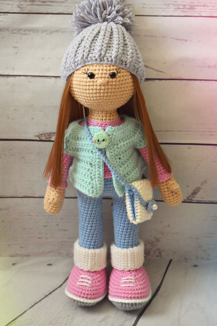 Amigurumi la bambola Molly free pattern schemi gratis amigurumi amigurumi free dowload