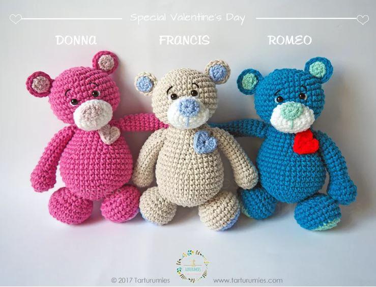 Amigurumi dolci orsetti cuore free pattern schemi gratis amigurumi amigurumi free dowload