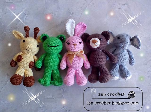 Amigurumi gli amici animali di zan free pattern schemi gratis amigurumi amigurumi free dowload