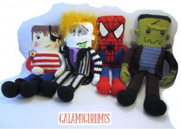 Spiderman Uomo ragno amigurumi crochet uncinetto SUB - Français ... | 450x633