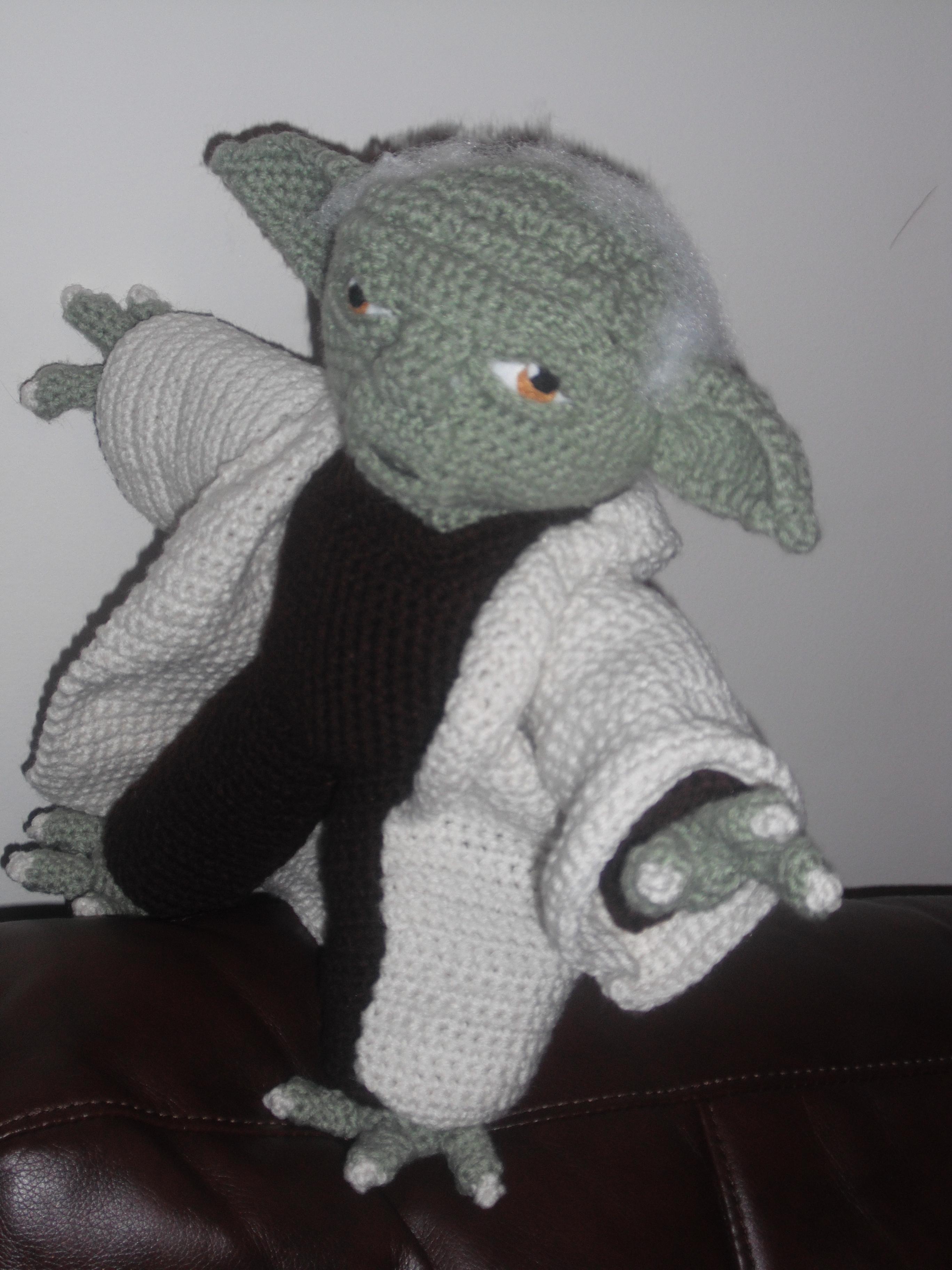 Amigurumi maestro Yoda free pattern schemi gratis amigurumi amigurumi free dowload