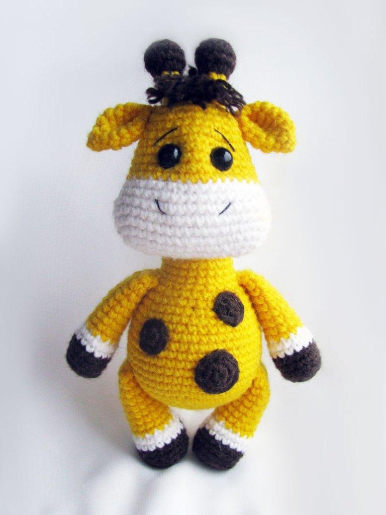 Amigurumi baby giraffa - Free Amigurumi