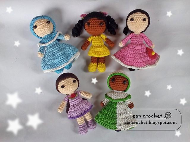 Amigurumi Little girls free pattern schemi gratis amigurumi amigurumi free dowload