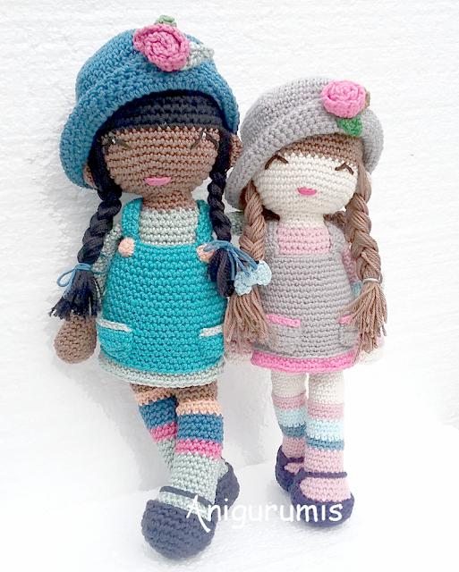Amigurumi Free Pattern Italiano : Amigurumi bambola anni free pattern