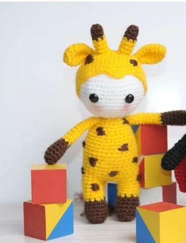Amigurumi bambola giraffa free pattern schemi gratis amigurumi amigurumi free dowload