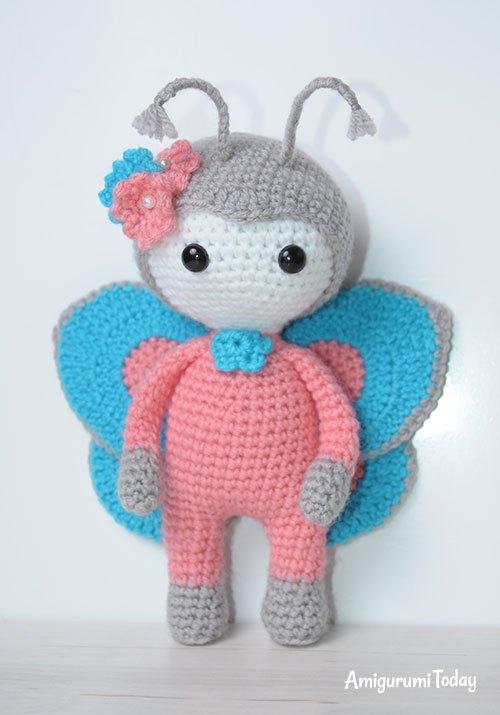 Amigurumi bambola farfalla free pattern schemi gratis amigurumi amigurumi free dowload