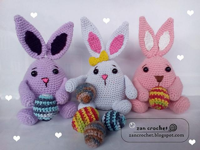 Amigurumi coniglietti pasquali free pattern schemi gratis amigurumi amigurumi free dowload