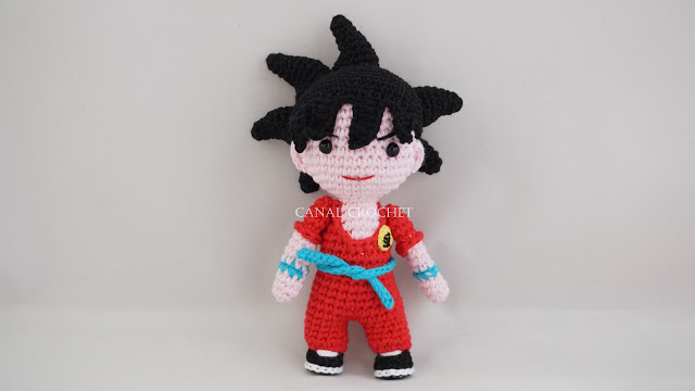 Amigurumi Goku di dragonball free pattern schemi gratis amigurumi amigurumi free dowload
