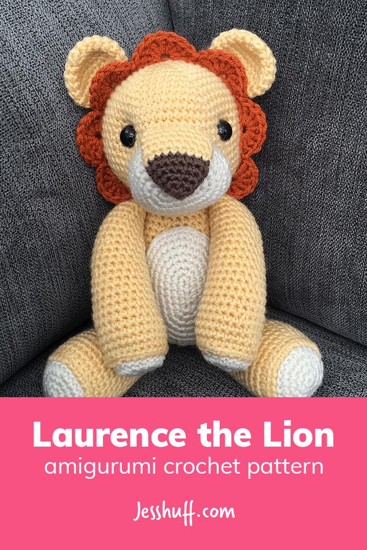 Laurence the lion free pattern schemi gratis amigurumi amigurumi free dowload