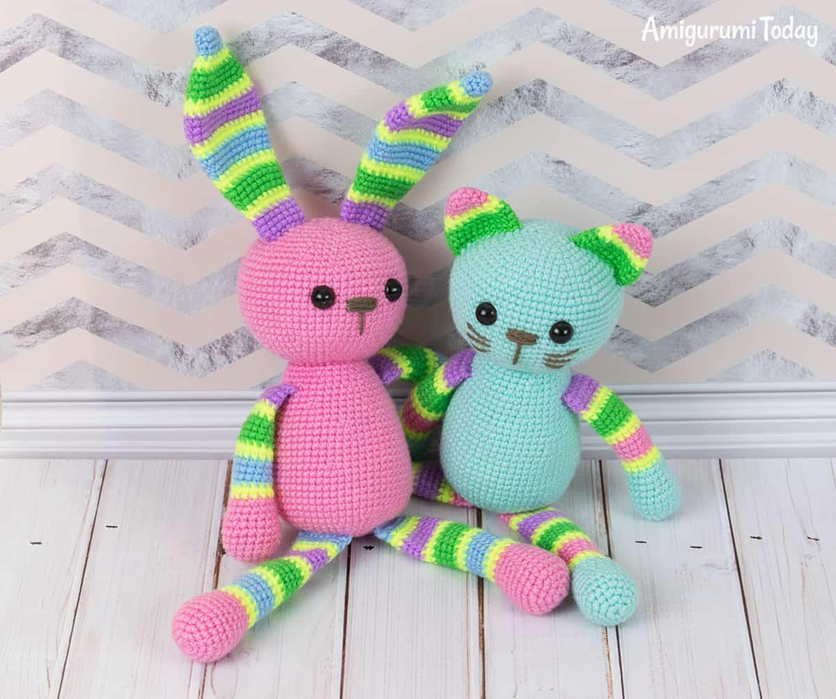 puppy multicolor free pattern schemi gratis amigurumi amigurumi free dowload