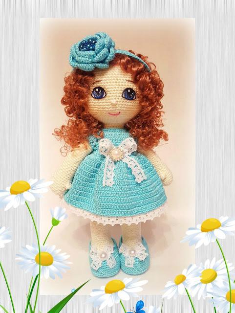 La bambola Tatiana amigurumi free