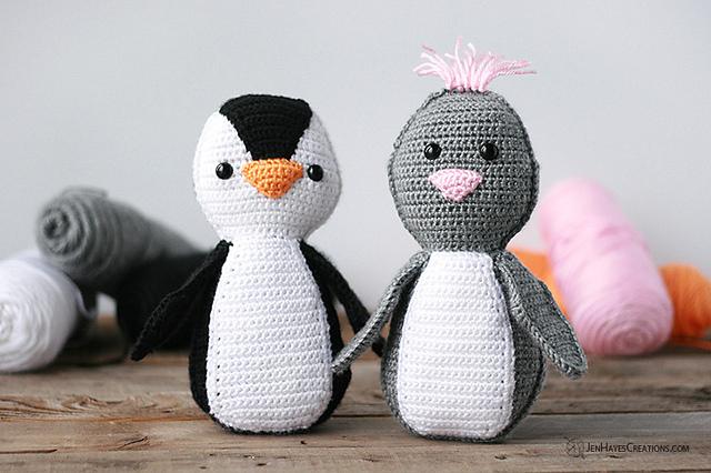 Coppia di pinguini  free pattern