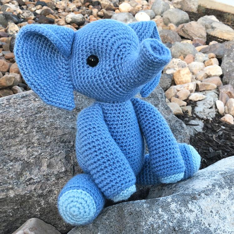 Ester l'elefante di jess free amigurumi