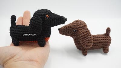 Free amigurumi cane bassotto