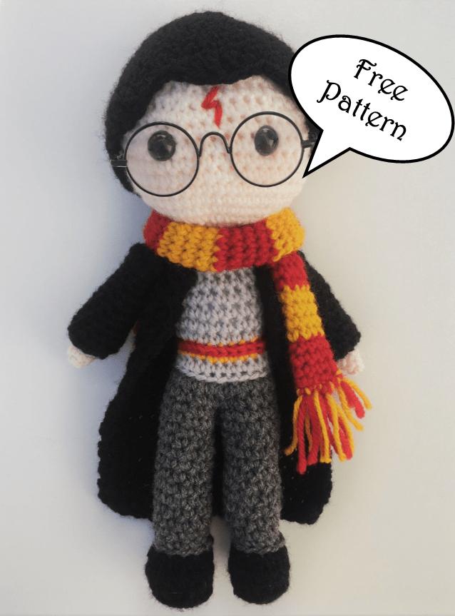 Harry Potter free amigurumi