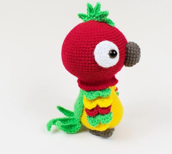 pulcino Amigurumi (tutorial-schema)/ how to crochet a chick ...   502x558