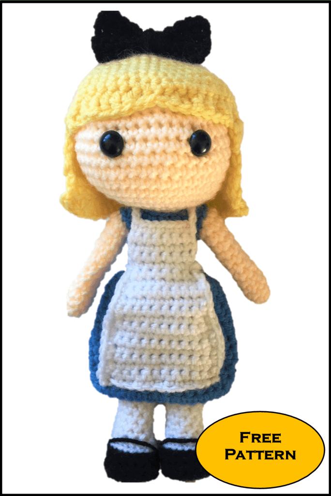 Alice nel paese delle meraviglie free amigurumi free pattern schemi gratis amigurumi amigurumi free download