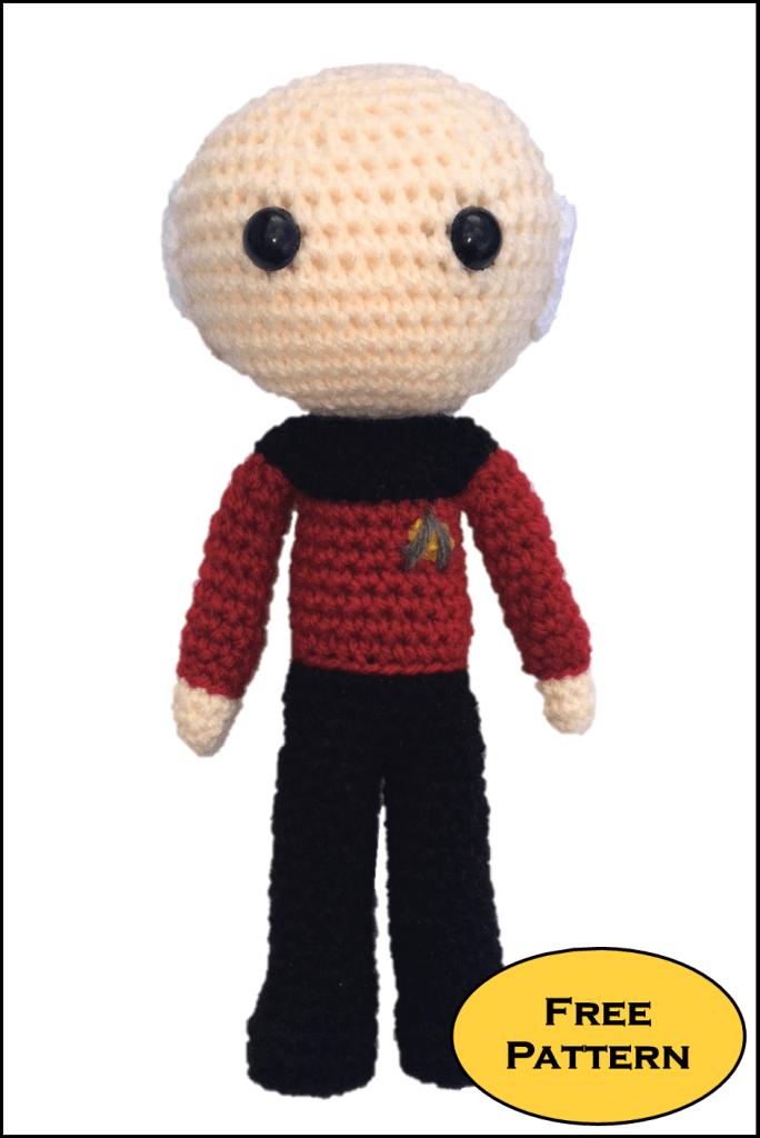 Capitano-Picard-Star-Trek free amigurumi free pattern schemi gratis amigurumi amigurumi free download