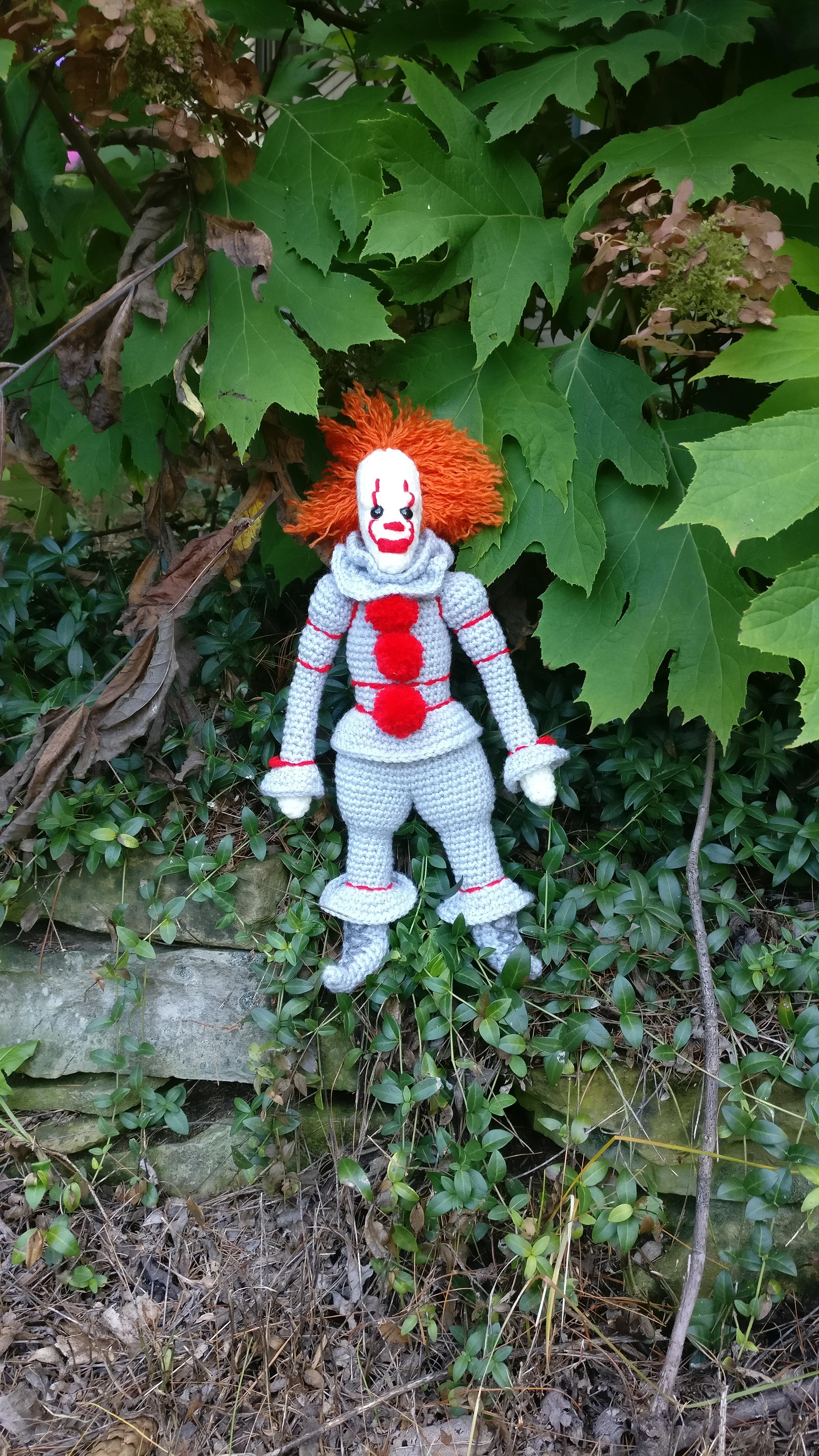 Clown da pauraaa free amigurumi free pattern schemi gratis amigurumi amigurumi free download