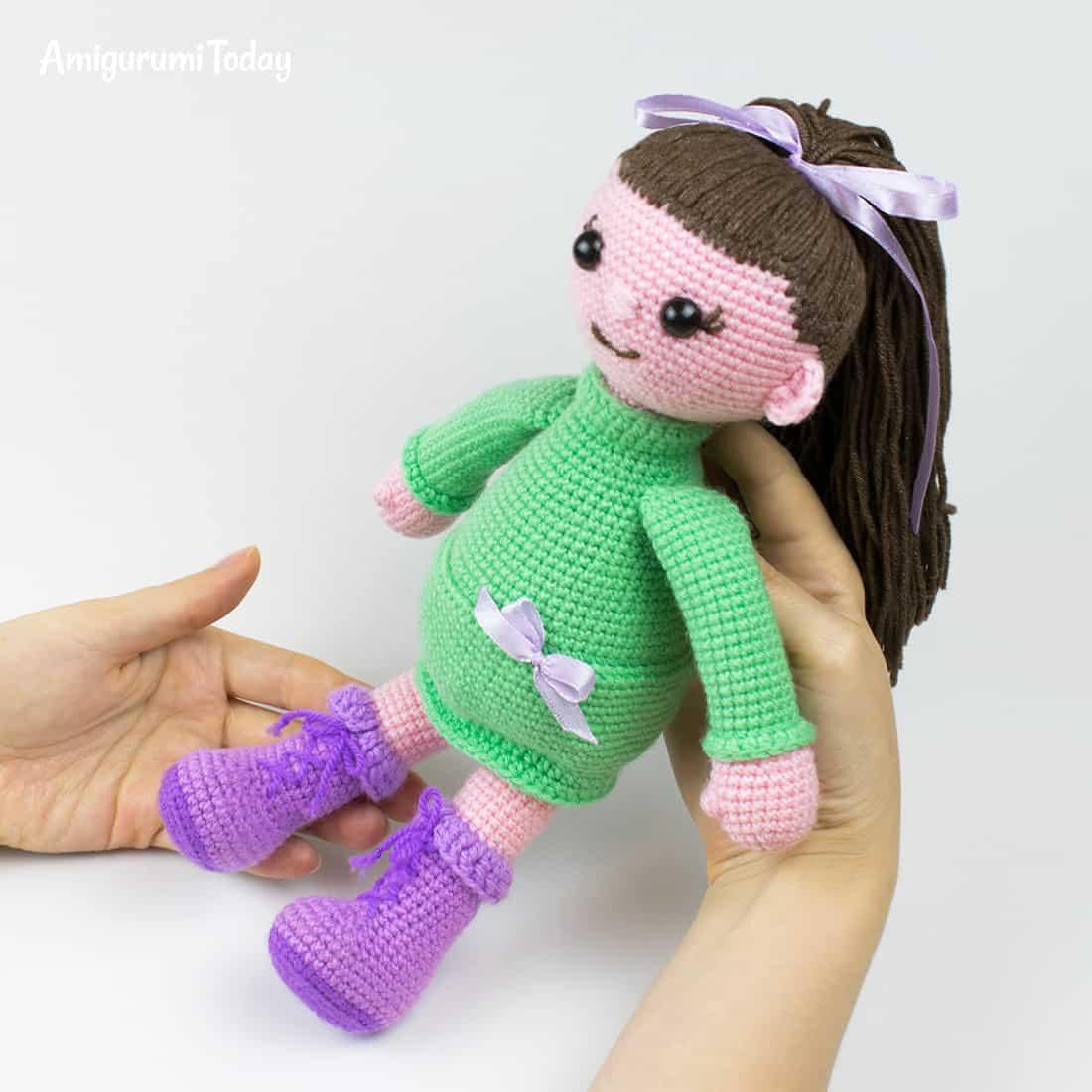 Lulu doll free amigurumi