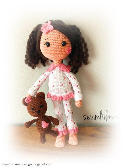 bambola in pigiama free amigurumi free pattern schemi gratis amigurumi amigurumi free download