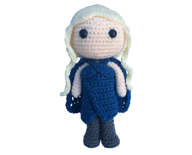 Daenerys Targaryen free pattern schemi gratis amigurumi amigurumi free download