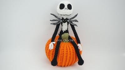 Jack Skeleton free pattern schemi gratis amigurumi amigurumi free download